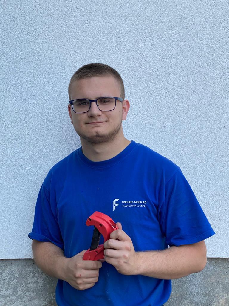 Ardit Berati, Sanitärinstallateur EFZ